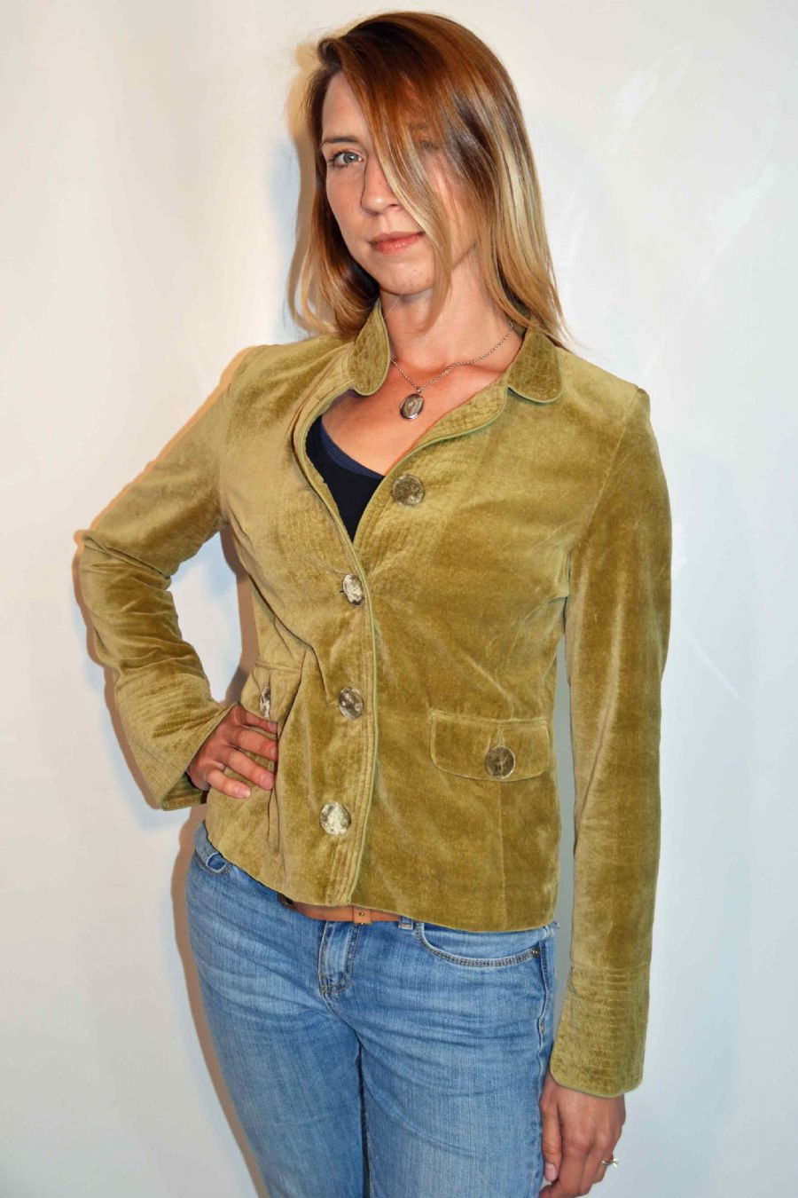 Jax Jacket - Dried Herb WAS £155.00 NOW £35 ONLY SIZES  XL AND 2X LEFT